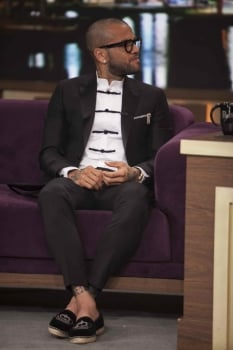 Daniel Alves no Programa do Porchat