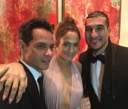 Jose Manuel Pinto encontrou Jennifer Lopez e Marc Anthony no Grammy