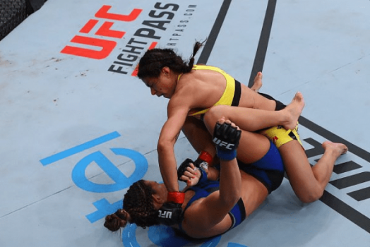 Claudia Gadelha dominou Cortney Casey por três rounds