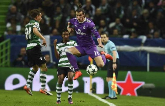 Bale - Sporting x Real Madrid