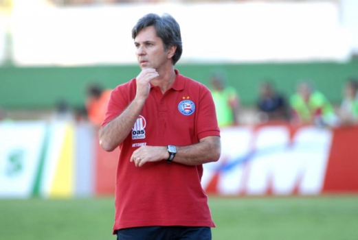 Caio Júnior como treinador do Bahia