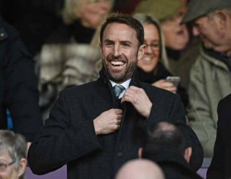 Gareth Southgate - Burnley x Manchester City