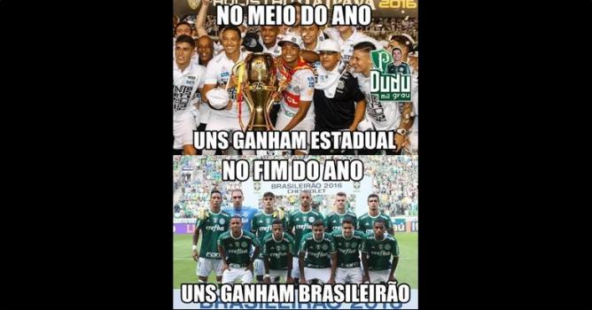 18ª rodada - Chapecoense 1 x 1 Palmeiras-Meme-FuteRock