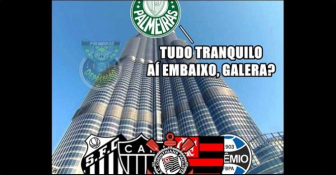 22ª rodada - Fluminense 0 x 2 Palmeiras-Meme-FuteRock