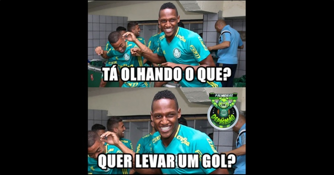 27ª rodada - Palmeiras 2 x 1 Coritiba-meme-Palmeiras-FuteRock
