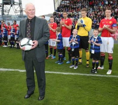 Harry Gregg, ex-goleiro do Manchester United