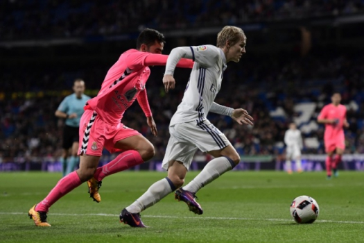 Odegaard - Real Madrid x Leonesa