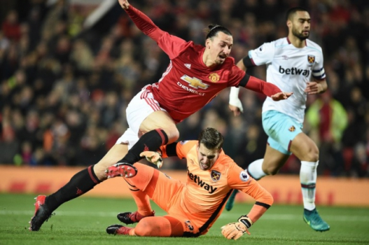 Ibrahimovic - Manchester United x West Ham