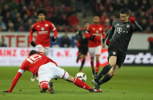 Lewandowski - Mainz x Bayern de Munique