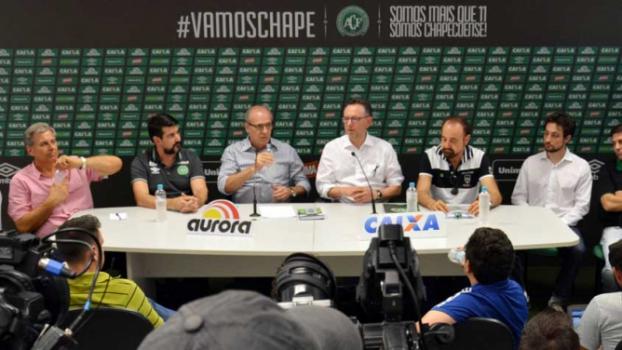 Chapecoense receberá doação milionária da CBF e renda da Seleção