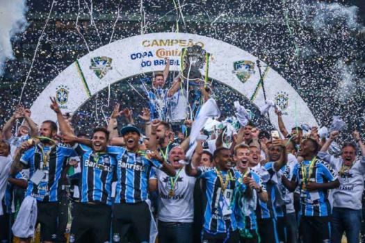 12450c2077 CBF divulga Ranking de Clubes com Grêmio líder e Palmeiras em ...