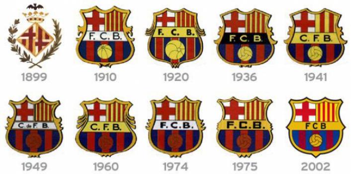 b54c09254b078 Fotos! Veja clubes que mudaram seus escudos nos últimos anos | LANCE!