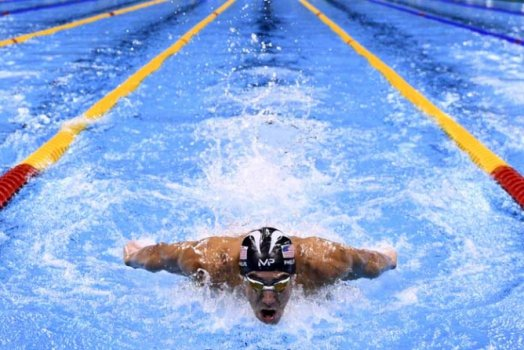 Foto do ano - Michael Phelps