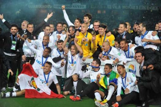 O Corinthians brilhou na final contra o Chelsea em 2012: 1 a 0
