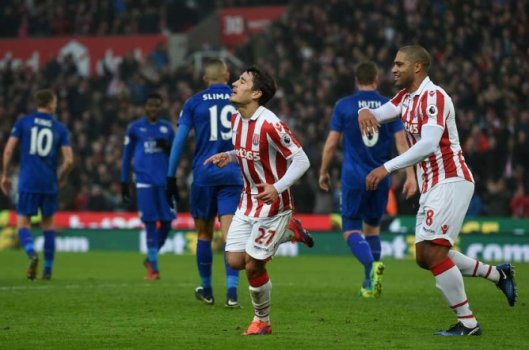 Stoke City x Leicester