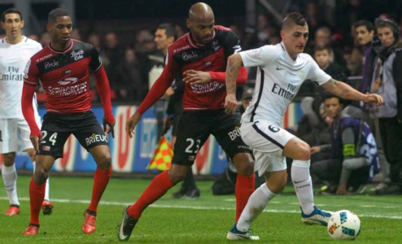 Guingamp x Paris Saint-Germain