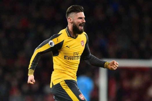 Giroud - Bournemouth x Arsenal