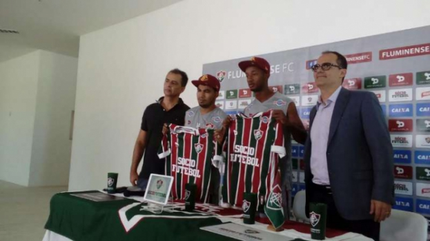 Jefferson Orejuela e Junior Sornoza