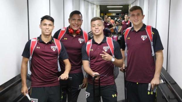 fa0f71928e São Paulo chega aos Estados Unidos para a disputa da Flórida Cup ...