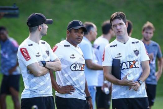 Roger Machado técnico do Atlético-MG
