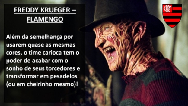Flamengo - Freddy Krueger (A Hora do Pesadelo)