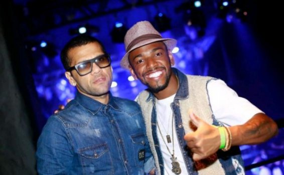 Daniel Alves e Nego do Borel