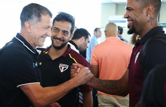 Juan Carlos Osorio e Breno - São Paulo