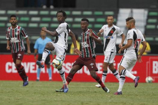 Orejuela e Andrezinho - Vasco x Fluminense