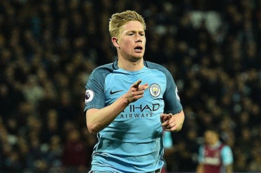 De Bruyne - West Ham x Manchester City