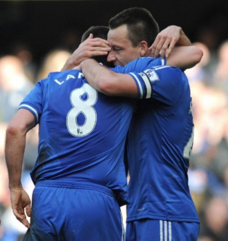 Terry a Lampard - Chelsea
