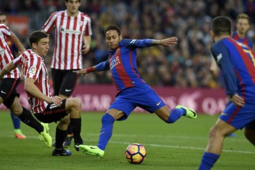 Barcelona x Athletic Bilbao - Neymar