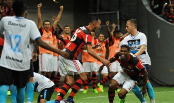 Berrío - Flamengo x Grêmio