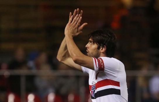 Volta de Kaká ao São Pailo, em 2014