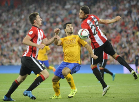 Athletic Bilbao 4x0 Barcelona - 14/8/2015 - final da Supercopa da Espanha