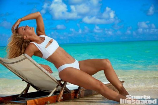 Bouchard, Serena e Wozniacki em poses sensuais para a Sports Illustrated