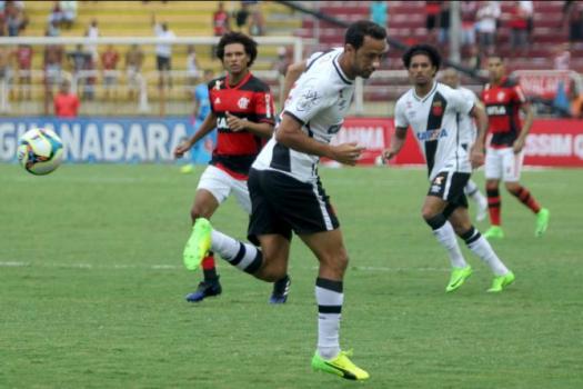 Nenê no Vasco x Flamengo