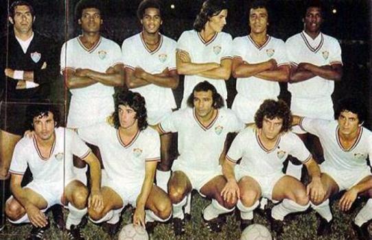 Fluminense 4x2 Flamengo - 1973 (Foto  Reprodução   Site oficial Fluminense) dbc47a2b56f6c
