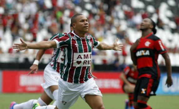 1a7f6545e2 Wellington Silva - Fluminense x Flamengo