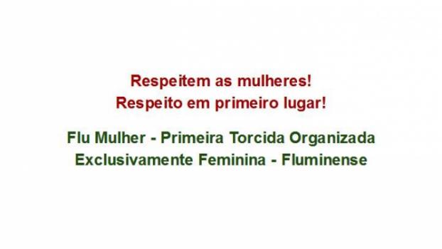 e9a12d78a82c5 Flu Mulher  Pioneirismo em torcida organizada feminina