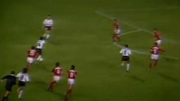 Resultado de imagem para Corinthians 0x2 Flamengo libertadores 1991