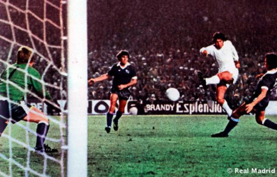 Real Madrid x Derby County 1976