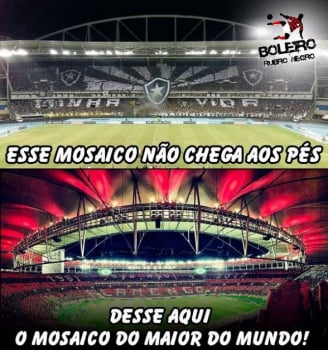 A Repercussão Do Mosaico Da Torcida Do Flamengo No Maracanã