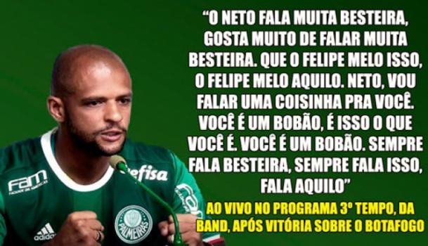 As 10 Frases Mais Ousadas De Felipe Melo Pelo Palmeiras
