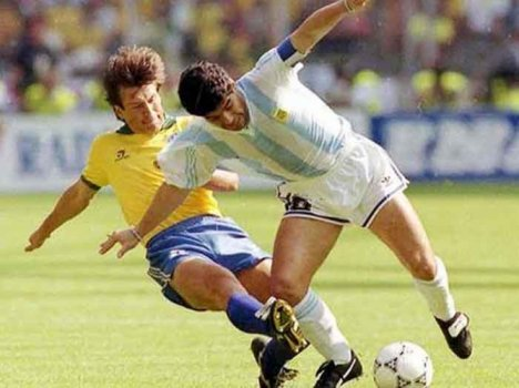 Dunga na Copa do Mundo de 1990