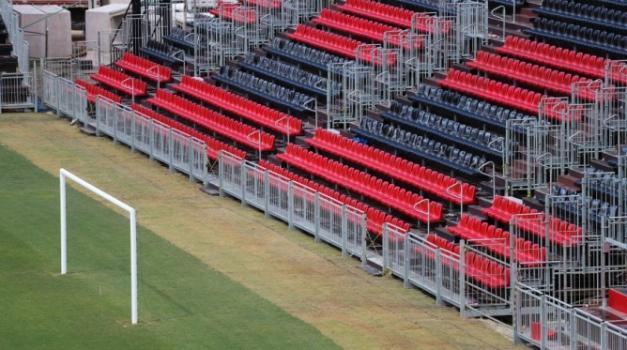 Flamengo divulga novas imagens do andamento das obras na Ilha