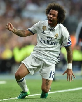 Marcelo - Real Madrid x Bayern de Munique