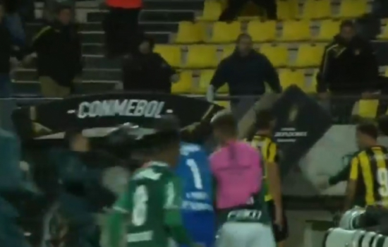 Conmebol denuncia Felipe Melo, os dois clubes e mais três uruguaios