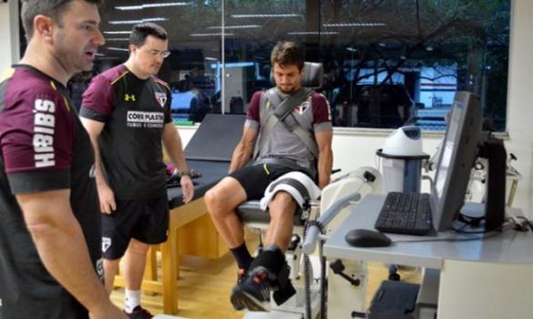 Elenco do São Paulo finaliza testes físicos e inicia treinos com bola