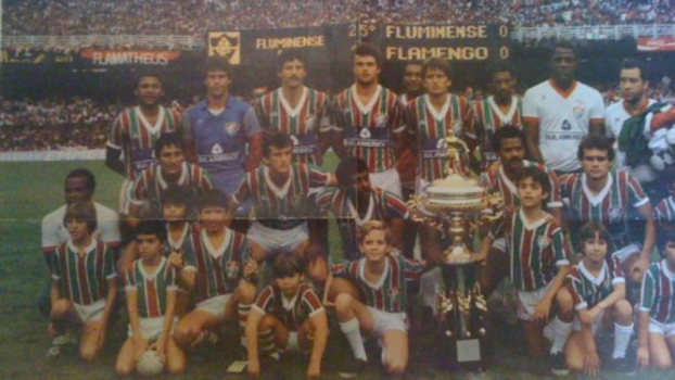b08f36e93a Reprodução. Fluminense - campeão carioca de 1984