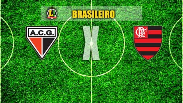 BRASILEIRO: Atlético-GO x Flamengo